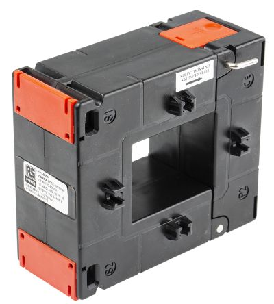 RS PRO Base Mounted Current Transformer, , 55 x 43mm diameter , 600A Input, 5 A Output, 600:5