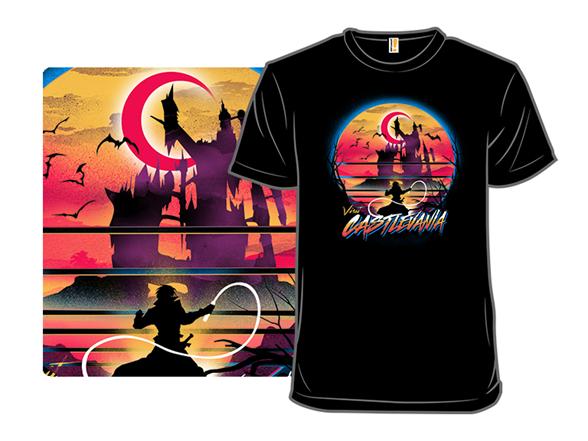 Visit Castlevania T Shirt
