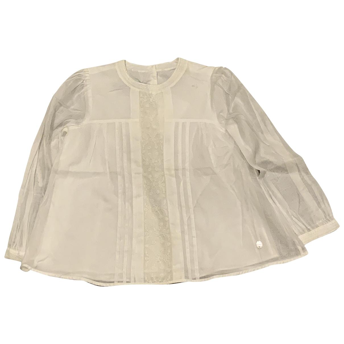 Dior - Top   pour enfant en coton - beige