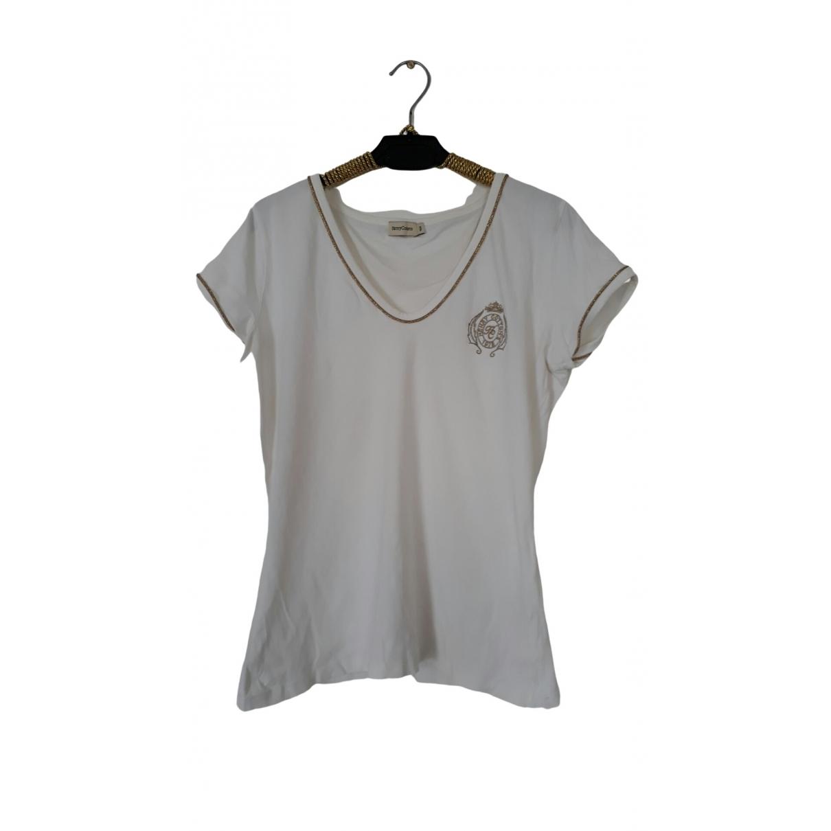 Henry Cotton - Pull   pour femme en coton - blanc