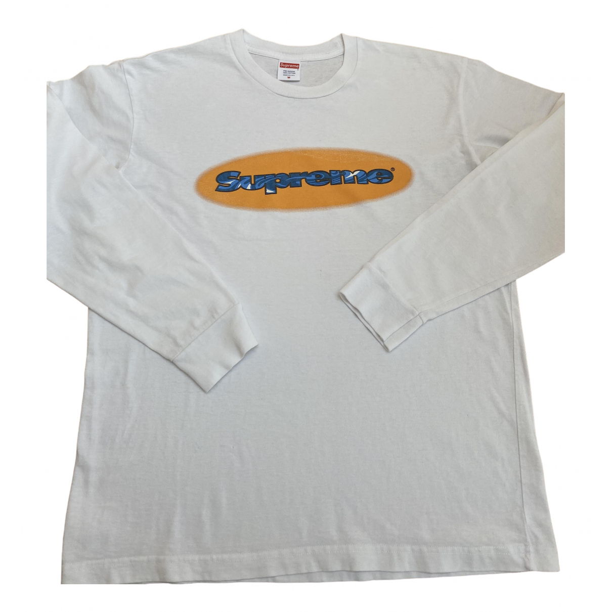 Supreme \N White Cotton Knitwear & Sweatshirts for Men M International