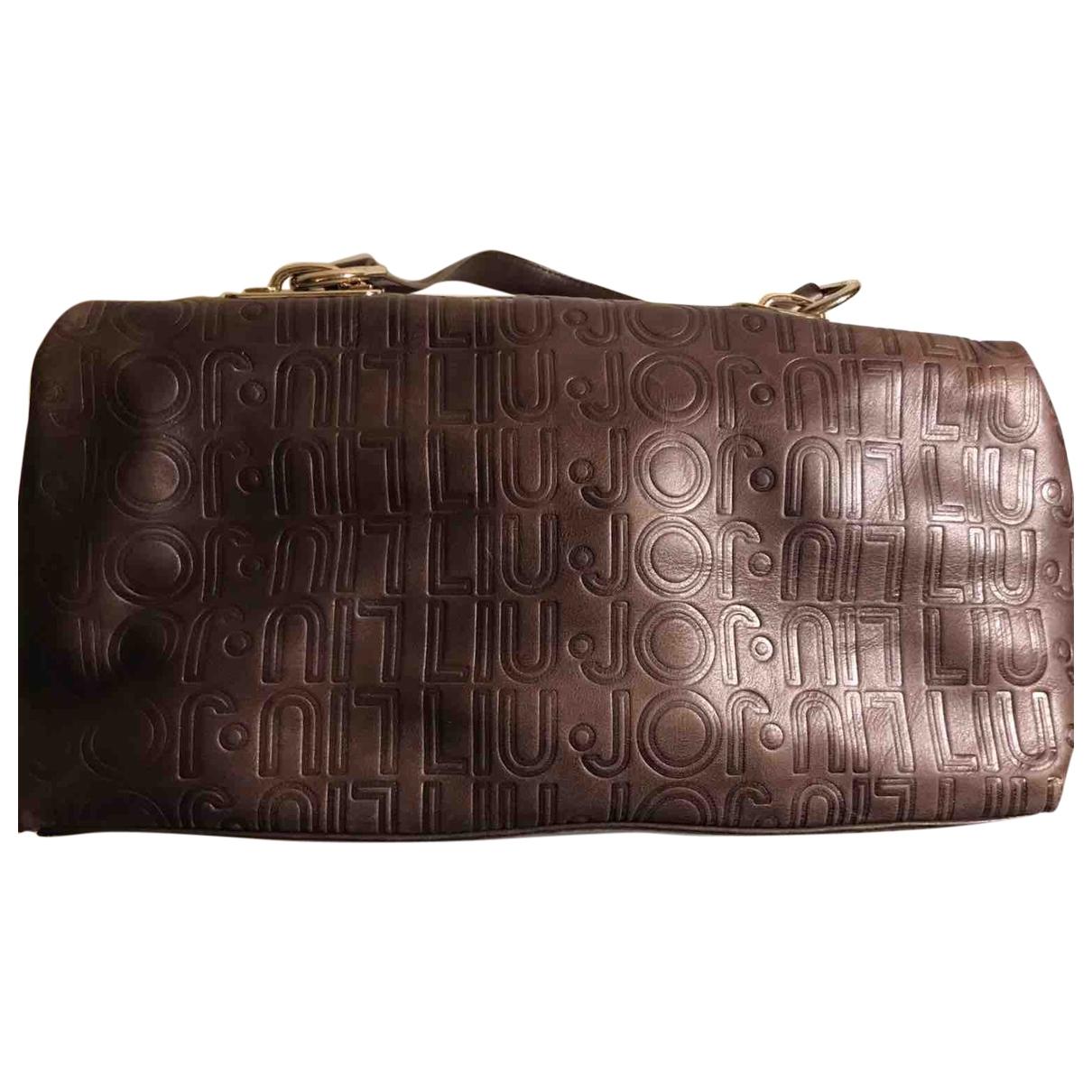 Liu.jo \N Handtasche in  Braun Leder