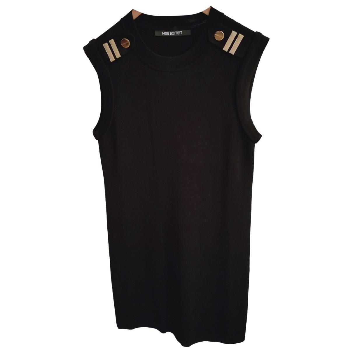 Neil Barrett \N Kleid in  Schwarz Viskose