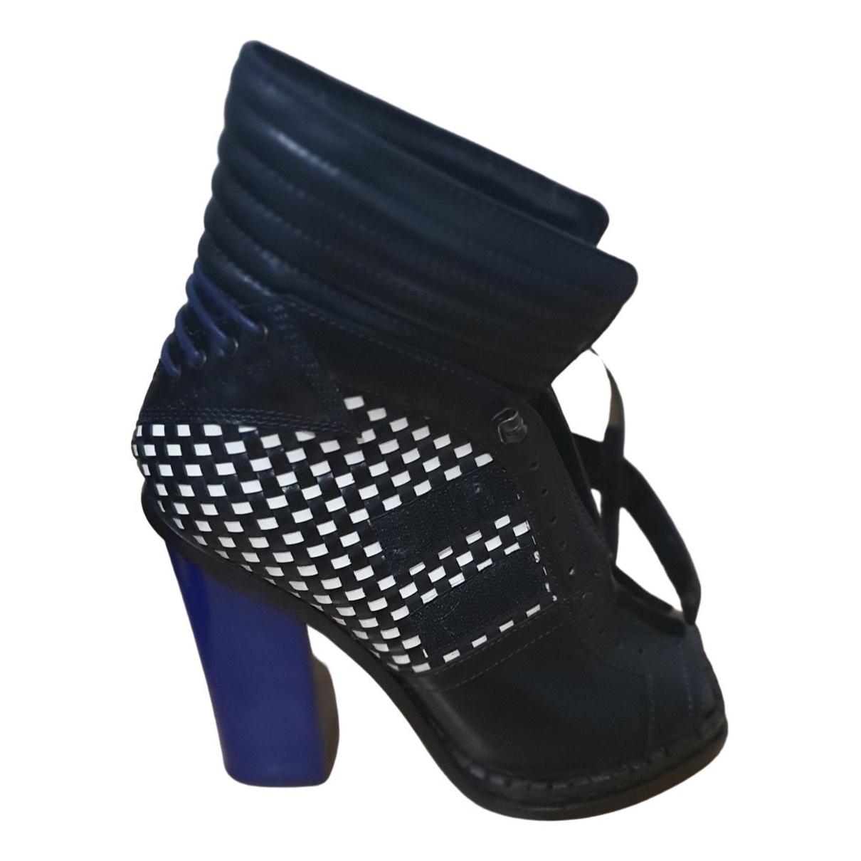 Proenza Schouler \N Stiefeletten in  Blau Leder