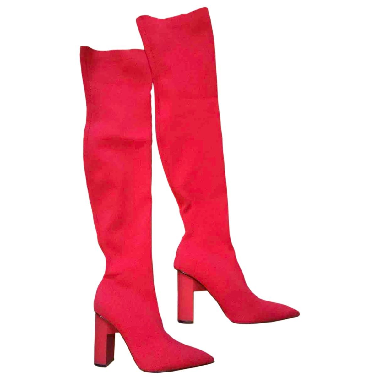 Zara \N Red Boots for Women 39 IT