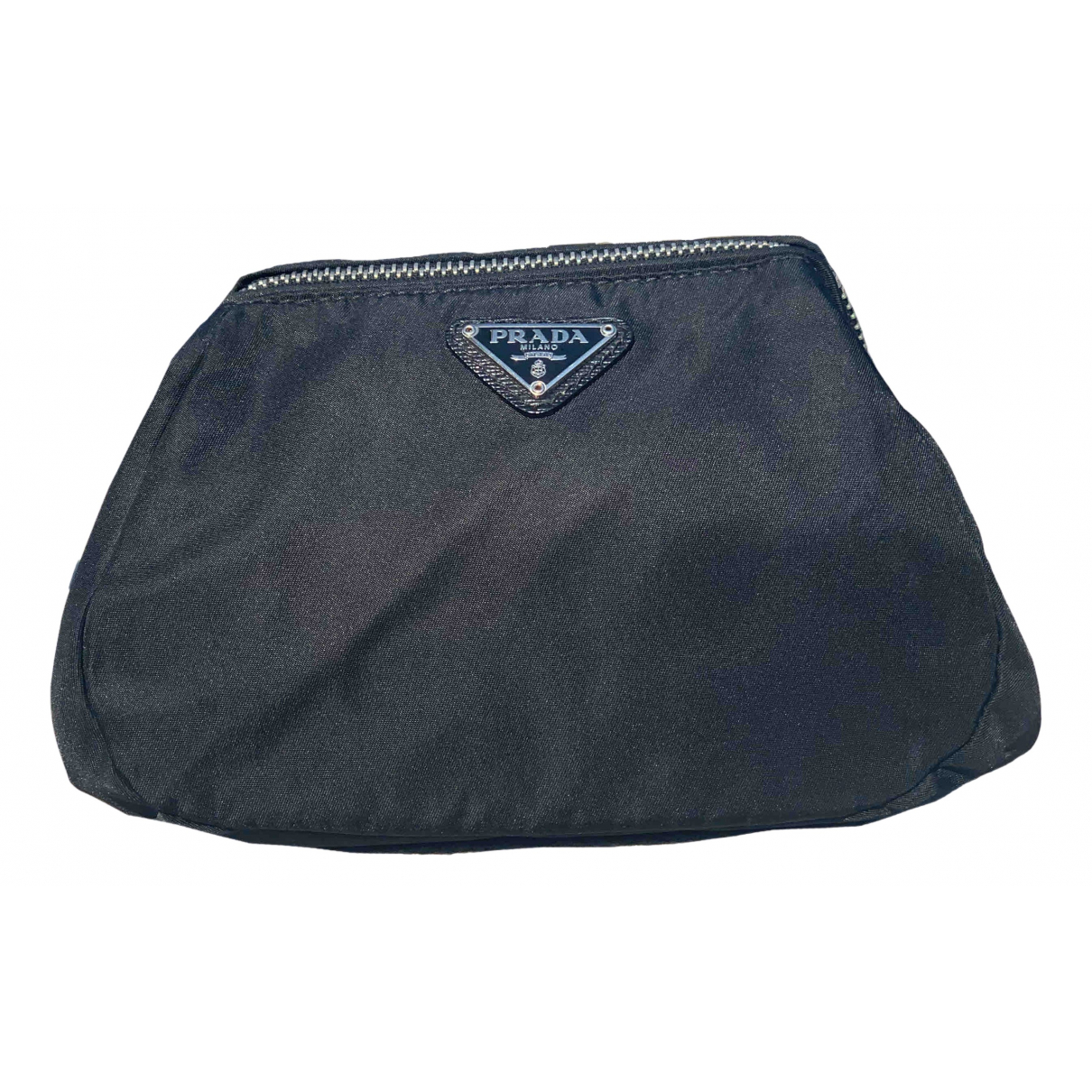 Prada Tessuto  Black Cloth Clutch bag for Women N