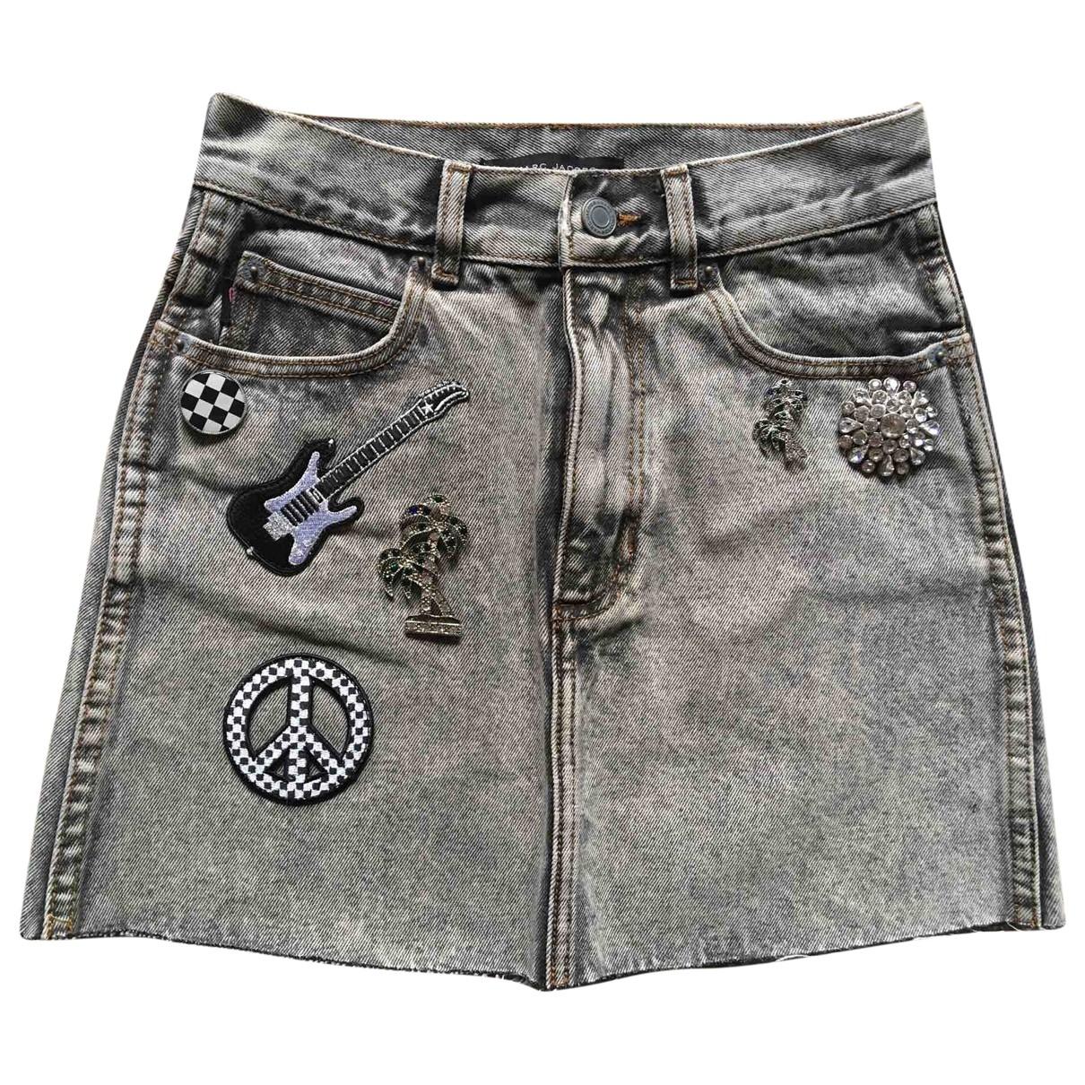 Marc Jacobs \N Rocke in  Grau Denim - Jeans
