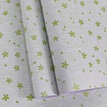 1 Blatt Wandaufkleber mit Blatt Muster