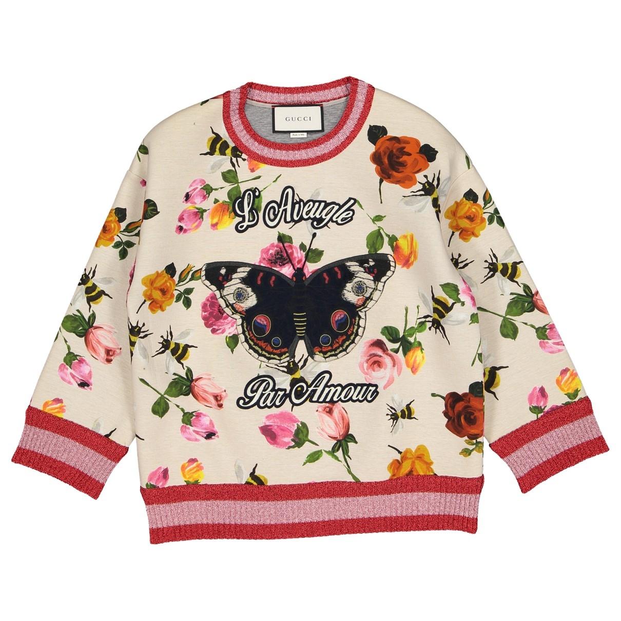 Gucci \N Pullover in  Bunt Baumwolle