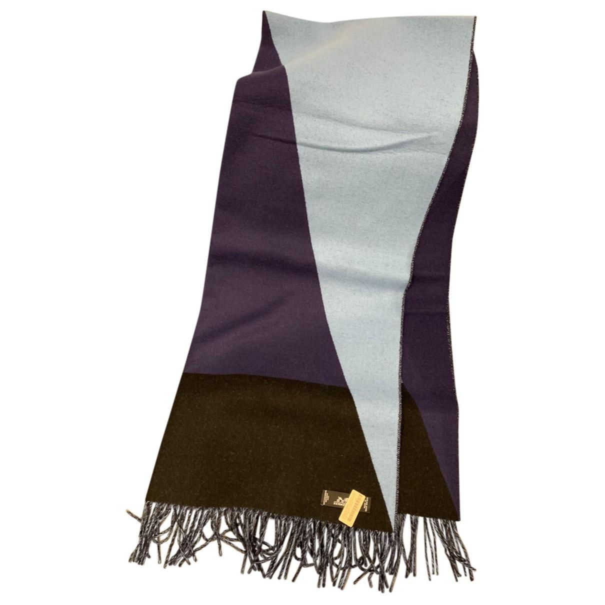 Hermes - Foulard   pour femme en cachemire - multicolore