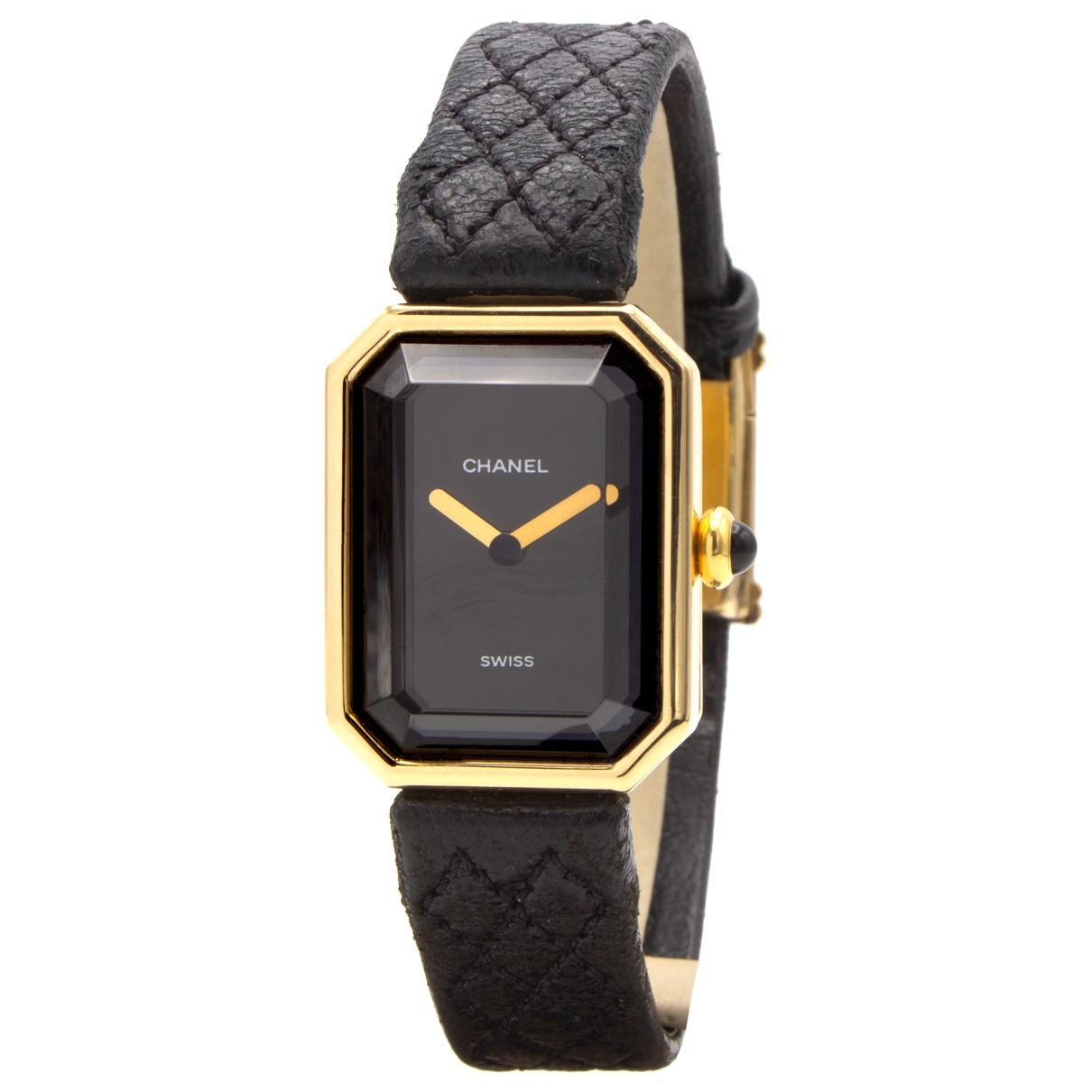Chanel Premiere Uhr in  Gold Gelbgold