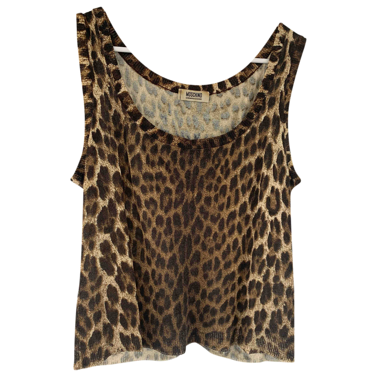 Moschino Cheap And Chic - Top   pour femme - beige