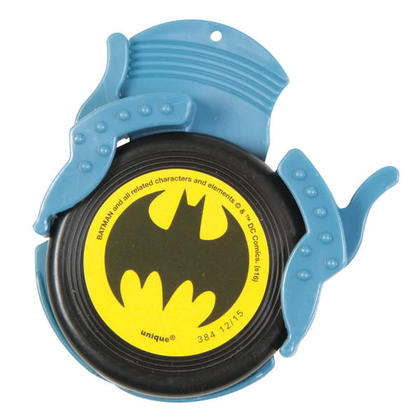 Batman 4 Mini Disc Shooters For Birthday Party