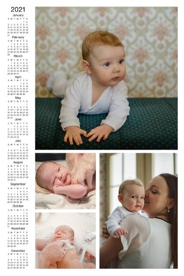 Calendar 20x30 Poster(s), Board, Home Décor -2021 Calendar Left