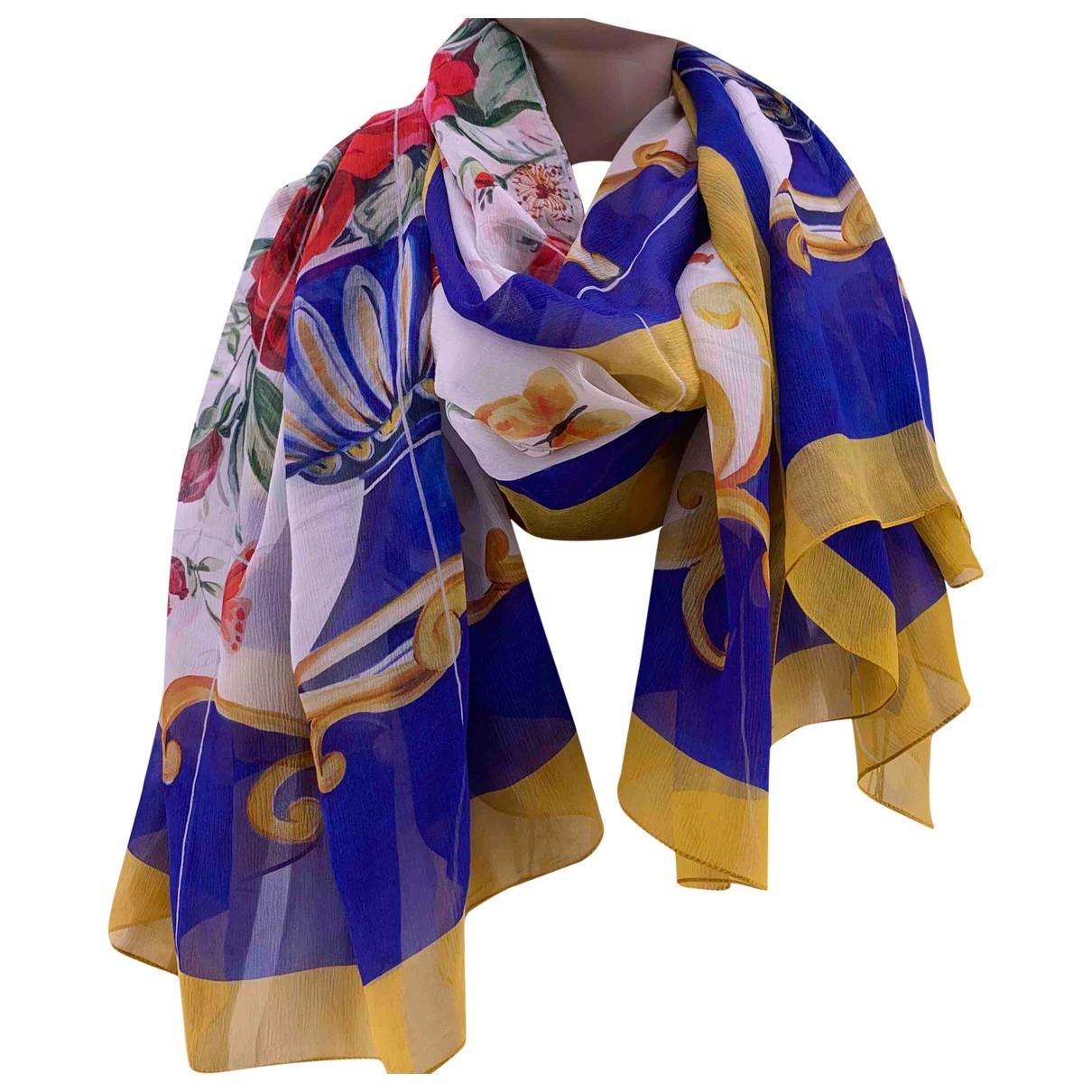Dolce & Gabbana \N Schal in  Bunt Seide