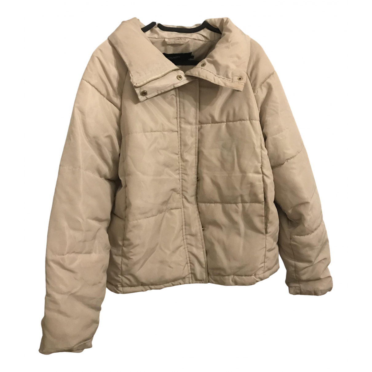 Non Signe / Unsigned \N Jacke in  Weiss Baumwolle