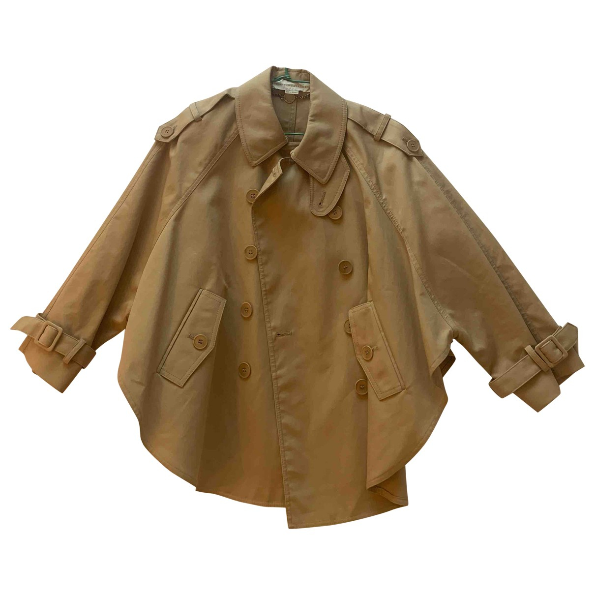 Stella Mccartney - Trench   pour femme en coton - beige