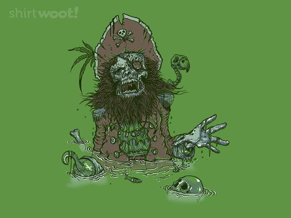 Deadbeard's Curse T Shirt
