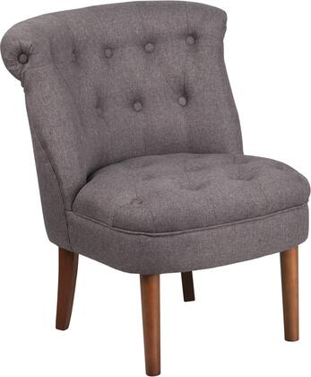QY-A01-GY-GG Hercules Kenley Series Gray Fabric Tufted