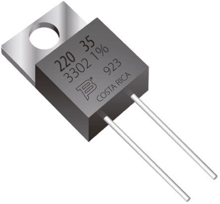 Bourns 150Ω Thick Film Resistor 35W ±1% PWR220T-35-1500F