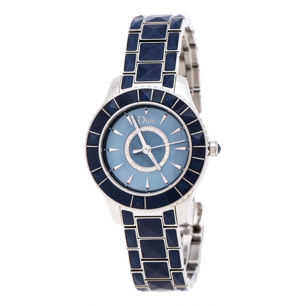 Dior - Montre Christal pour femme en autre - bleu
