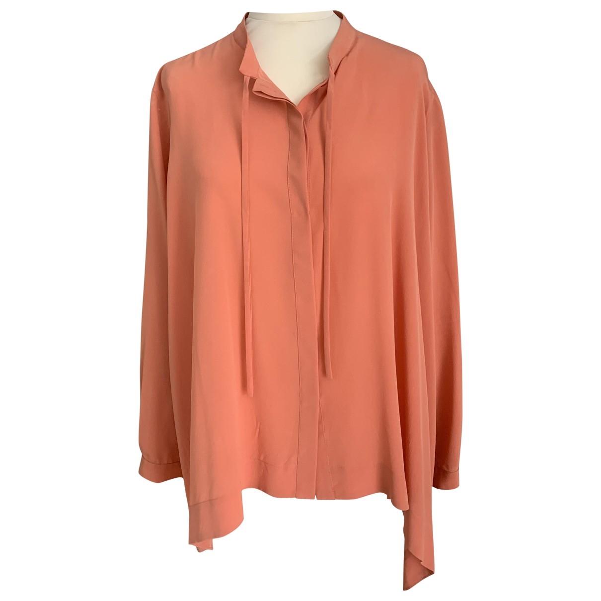 Etro \N Top in  Orange Seide