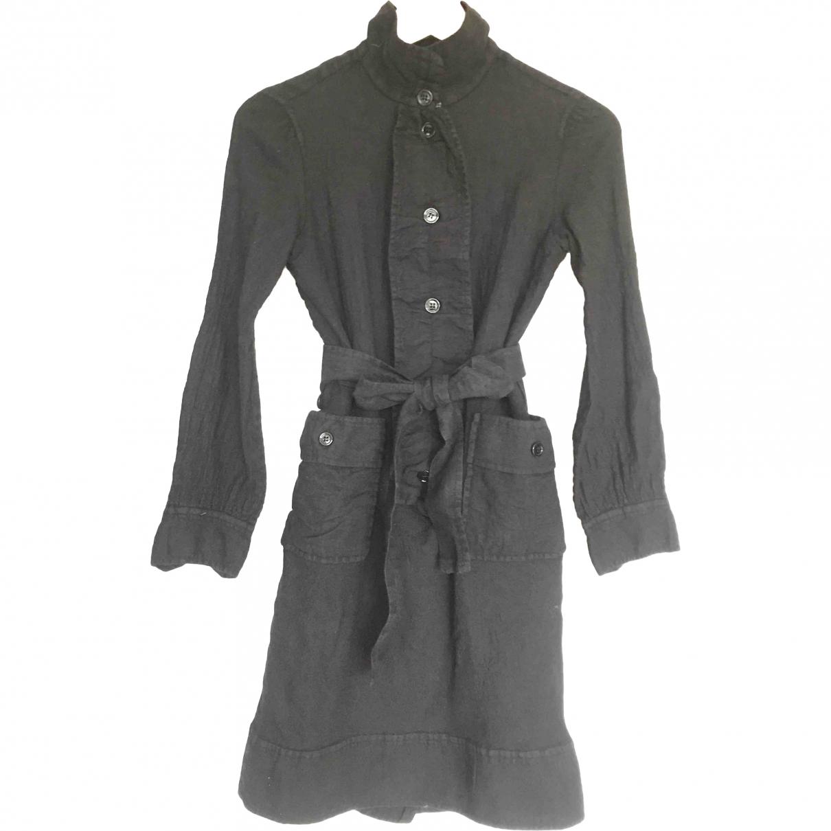 Yves Saint Laurent - Robe    pour enfant en laine - marron