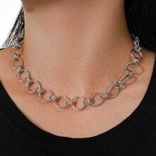 Halskette mit Ring Dekor