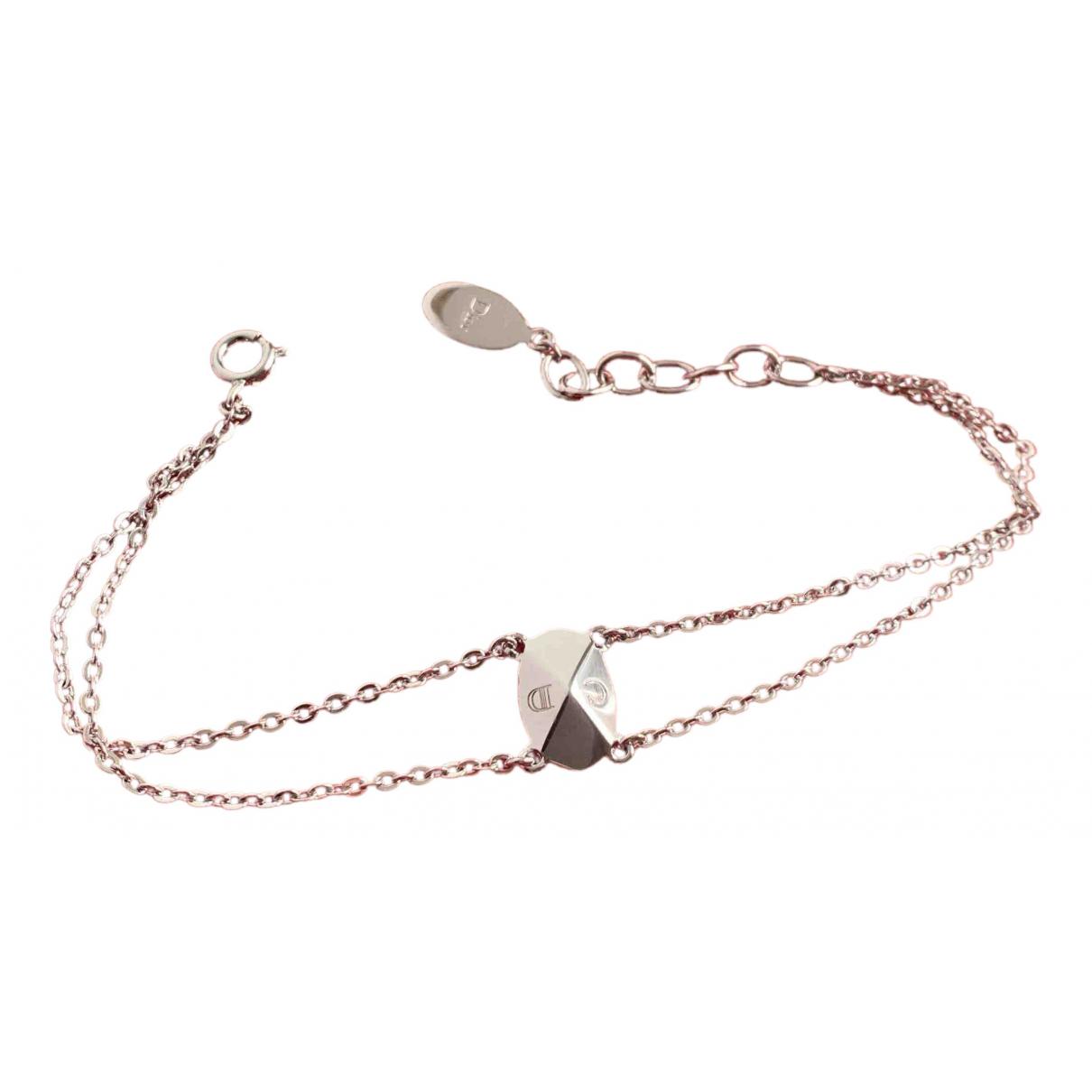 Dior N Silver Metal bracelet for Women N