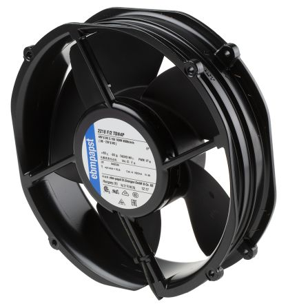 ebm-papst , 48 V dc, DC Axial Fan, 200 x 50.8mm, 1220m³/h, 103W, IP20