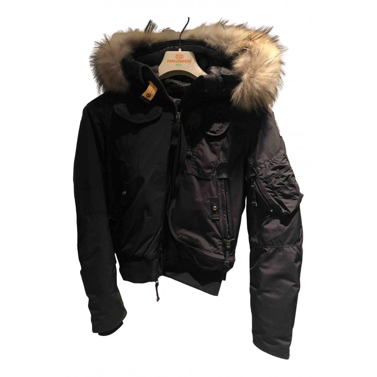 Parajumpers N Black Leather jacket for Women 34 FR