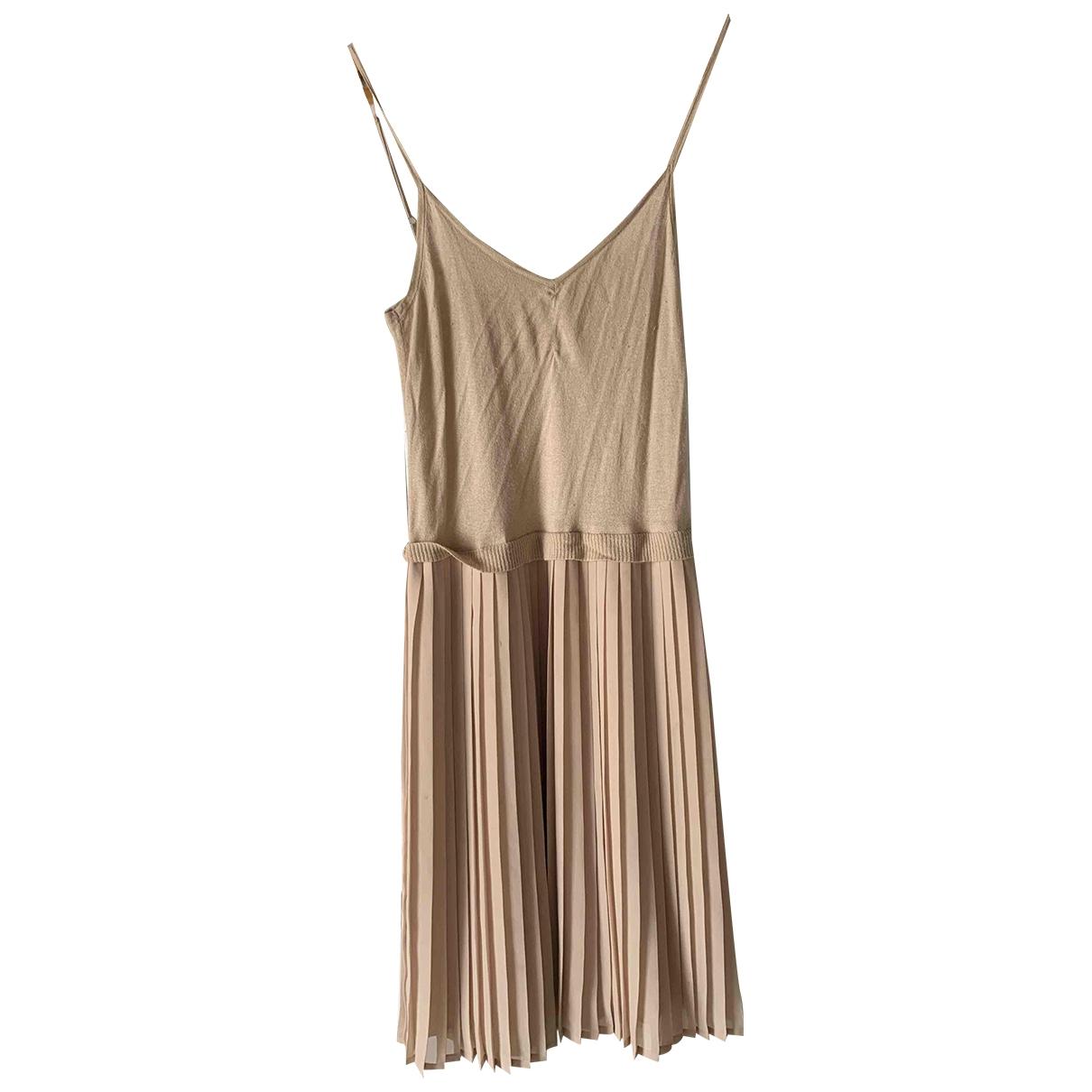 Les Petites \N Ecru Silk dress for Women 36 FR