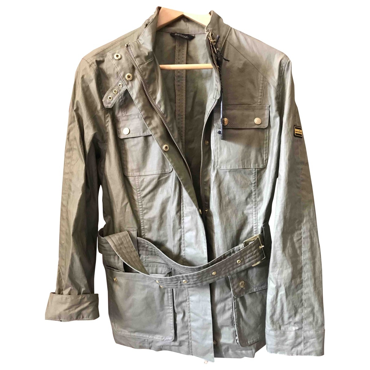 Barbour \N Green Cotton jacket for Women 16 UK