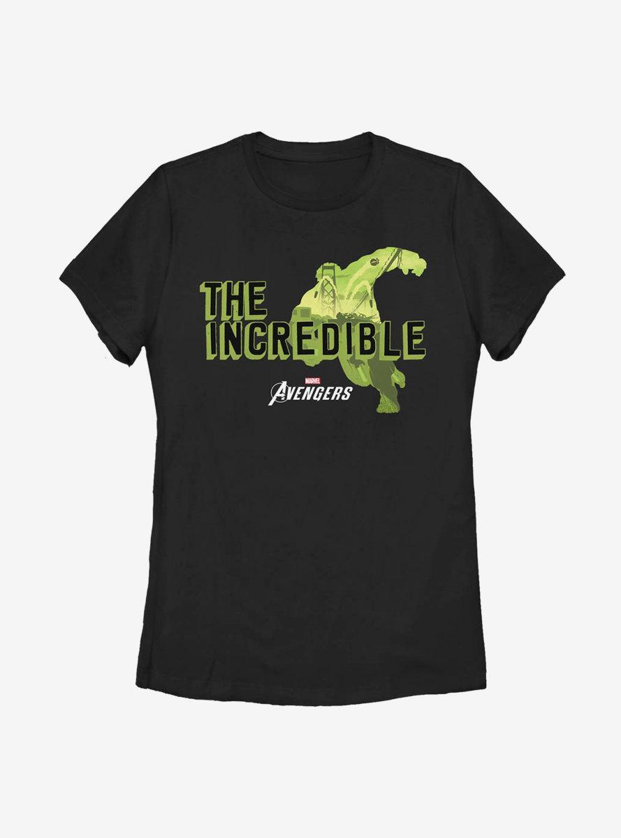 Marvel Hulk The Big Guy Womens T-Shirt