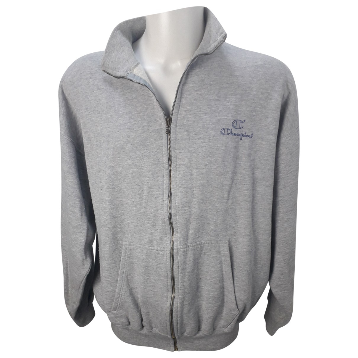 Champion \N Grey Cotton Knitwear & Sweatshirts for Men XXL International