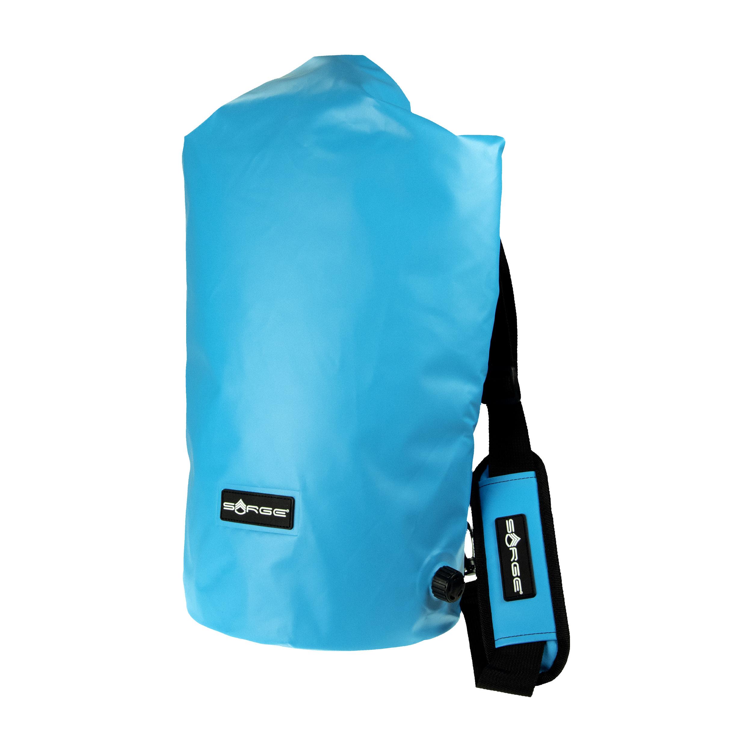 Glacier - Light Blue Roll Top Cooler Bag