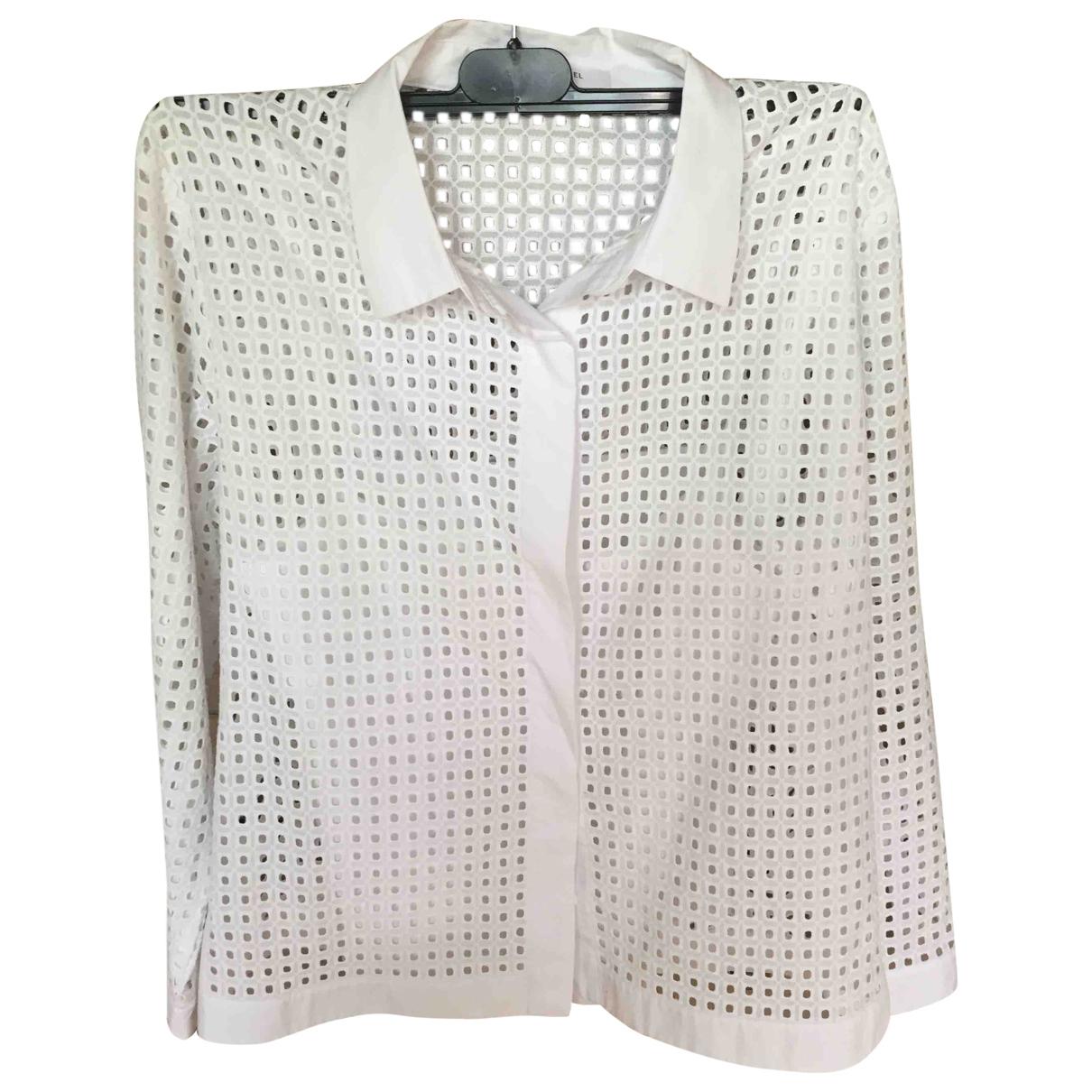 Gerard Darel \N White Cotton  top for Women 38 FR