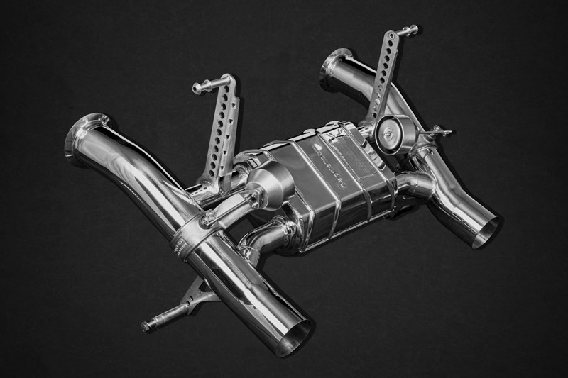 Capristo Valved Exhaust w/ Remote Lamborghini Aventador SVJ
