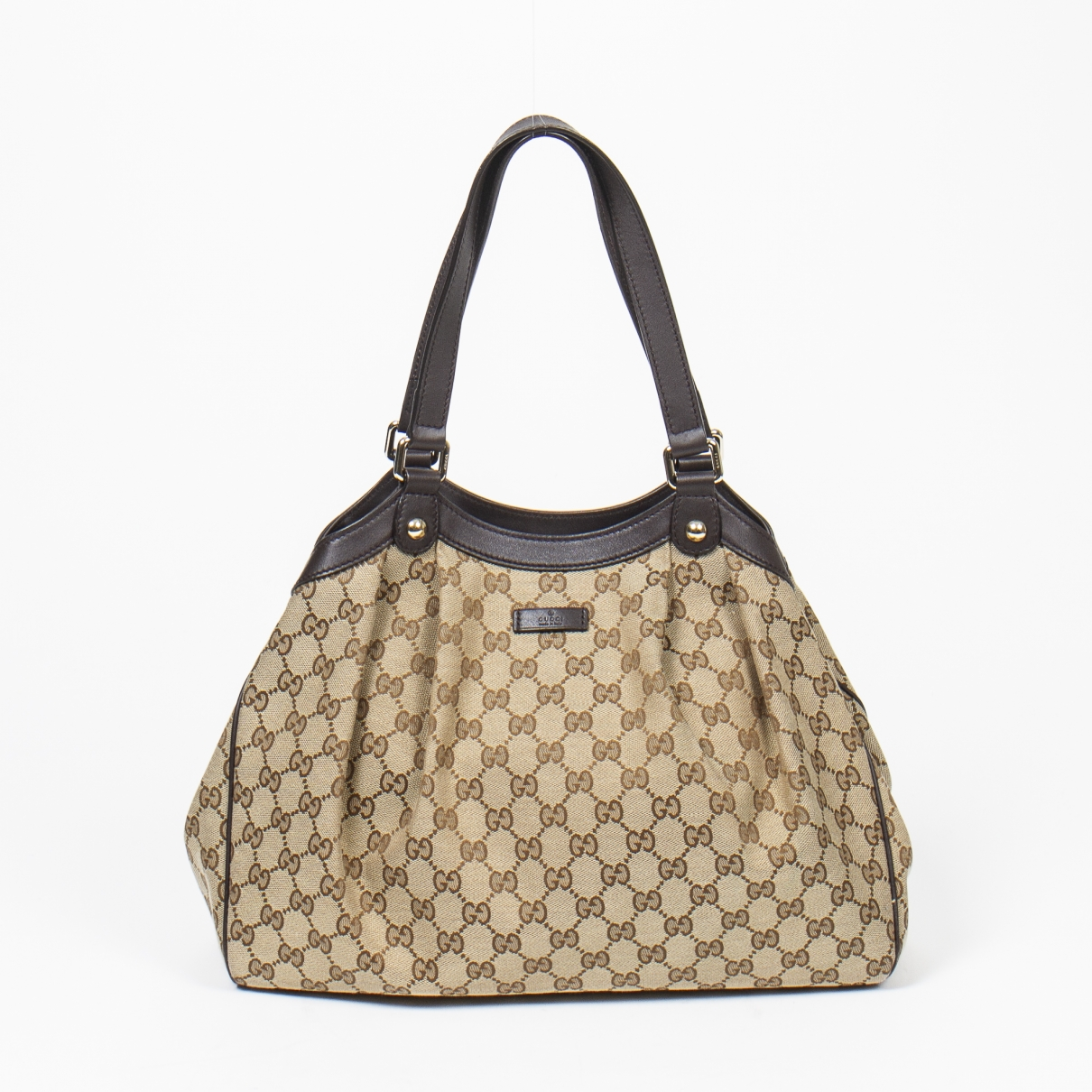 Gucci Sukey Brown Cotton handbag for Women \N