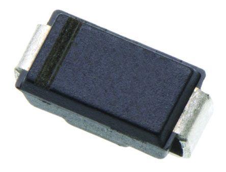 Taiwan Semiconductor Taiwan Semi 100V 1A, Schottky Diode, 2-Pin DO-214AC SS110 R3 (25)