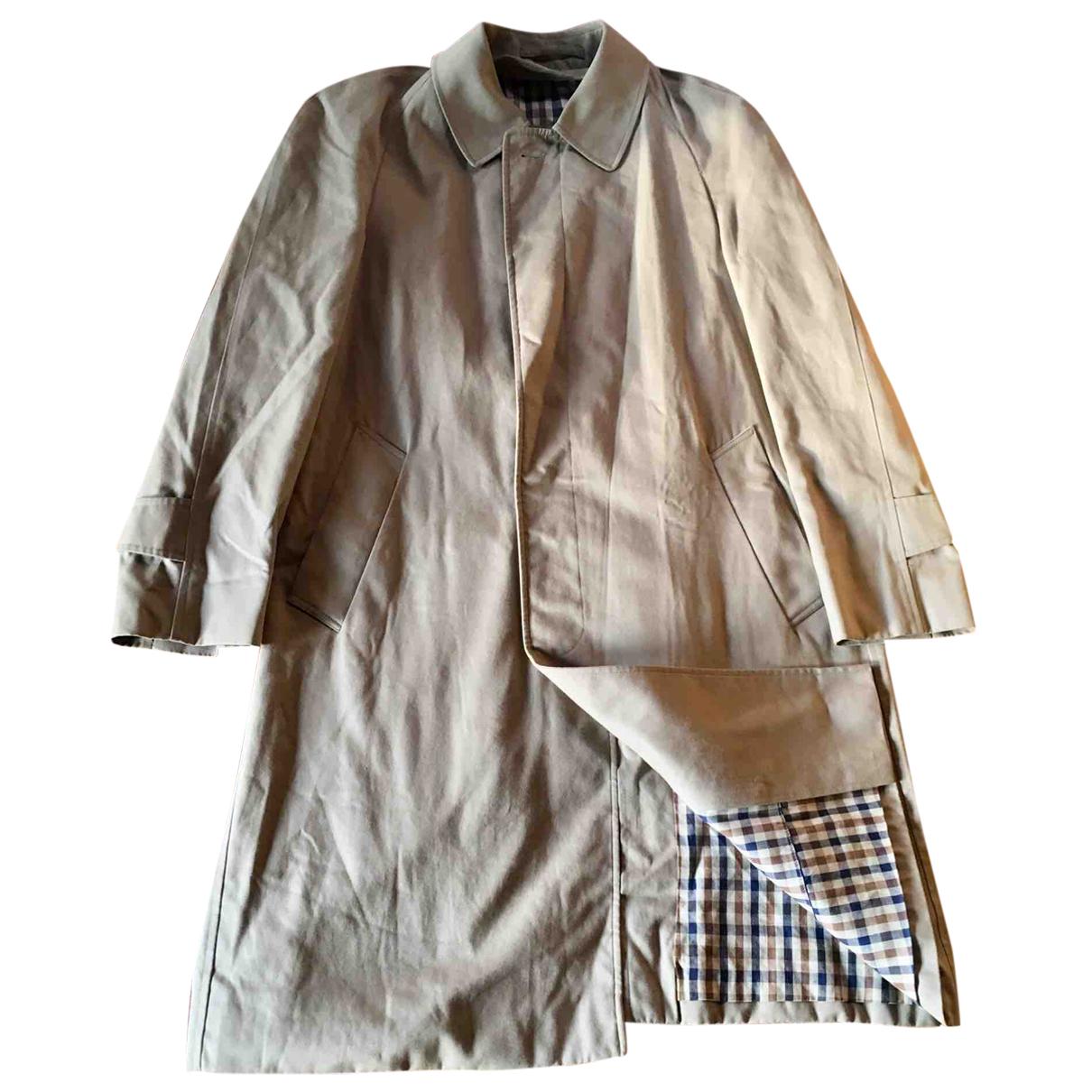 Aquascutum N Beige Cotton coat for Women M International