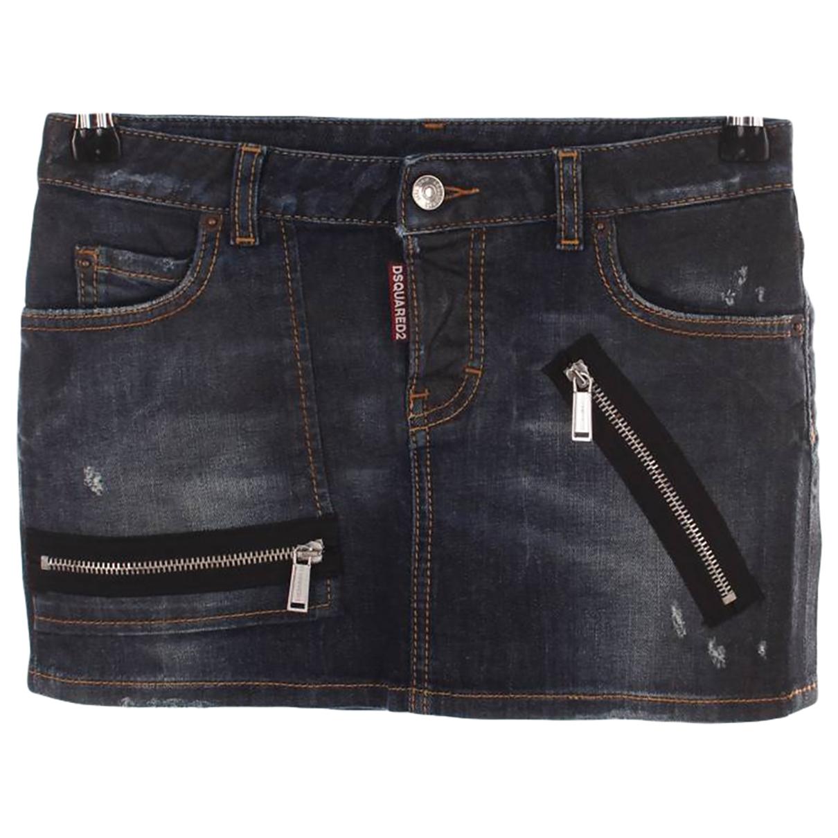 Dsquared2 \N Navy Denim - Jeans skirt for Kids 12 years - XS UK