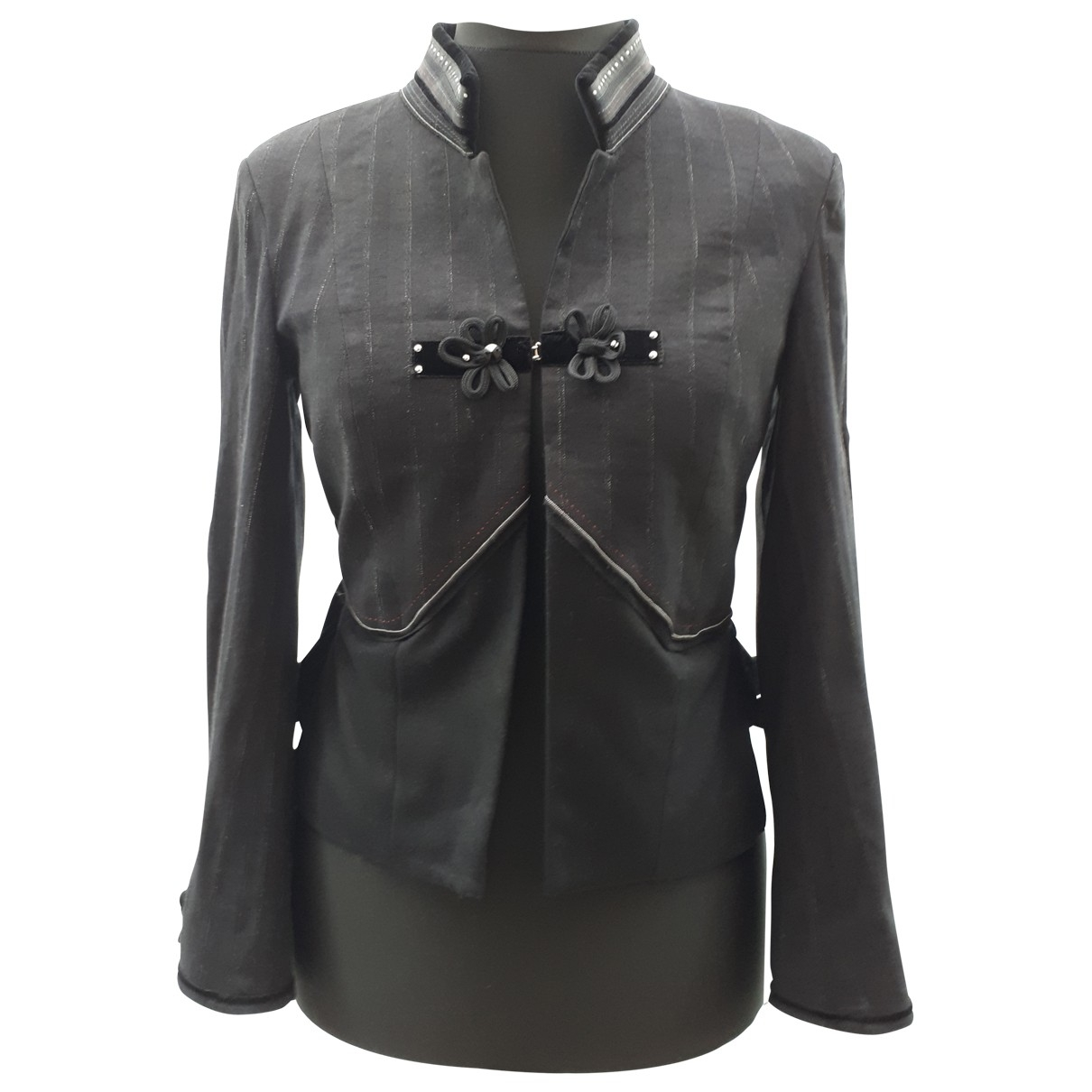 Claire Campbell \N Jacke in  Schwarz Wolle