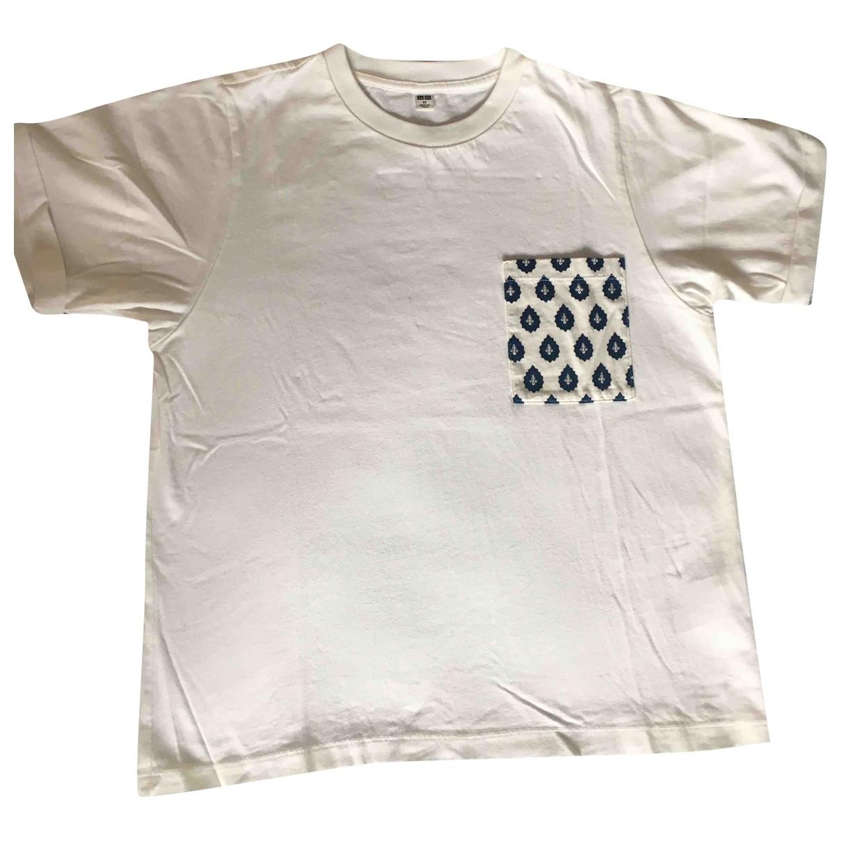 Uniqlo \N White Cotton  top for Women XS International