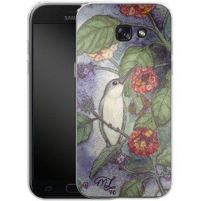 Samsung Galaxy A5 (2017) Silikon Handyhuelle - Mary Layton - Flying birds von TATE and CO