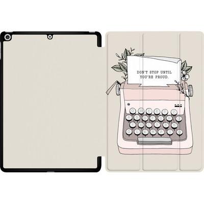 Apple iPad 9.7 (2018) Tablet Smart Case - Dont Stop von Barlena