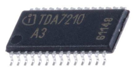 Infineon TDA7210XUMA1, RF Transceiver IC 400MHz to 440MHz Dual Band 28-Pin TSSOP (2)