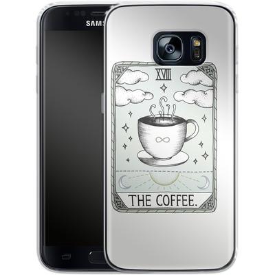 Samsung Galaxy S7 Silikon Handyhuelle - The Coffee von Barlena