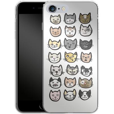 Apple iPhone 6s Plus Silikon Handyhuelle - 28 Cats von caseable Designs