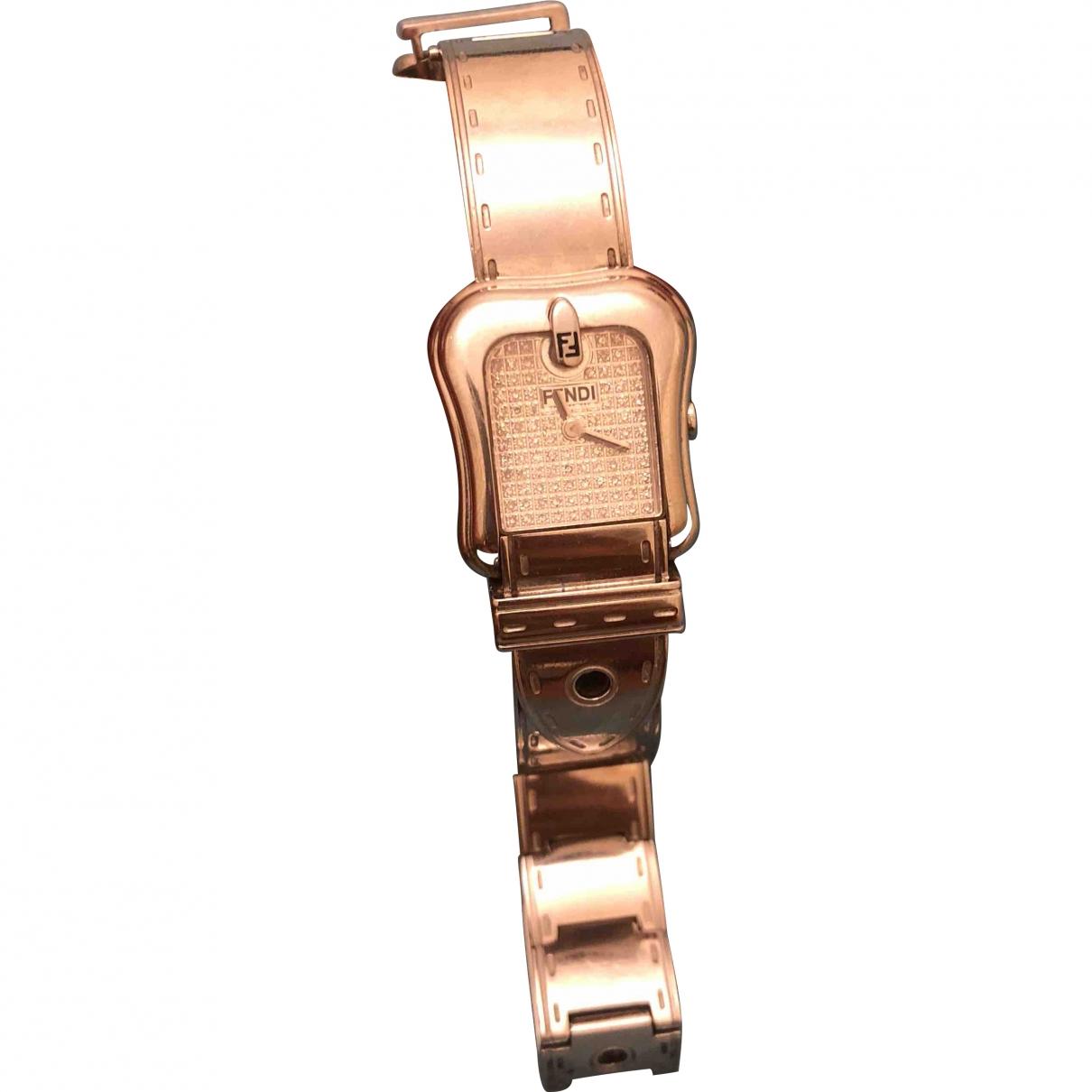 Fendi \N Silver Steel watch for Women \N